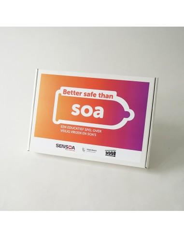 Better safe than soa - De Aanstokerij