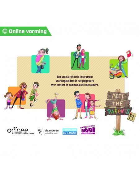 Online vorming 'Meet the parents' - De Aanstokerij