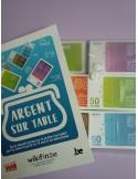 BUDGET AAN-ZET/ARGENT SUR TABLE