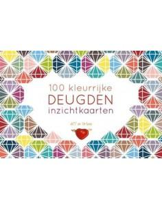 100 kleurrijke DEUGDEN inzichtkaarten